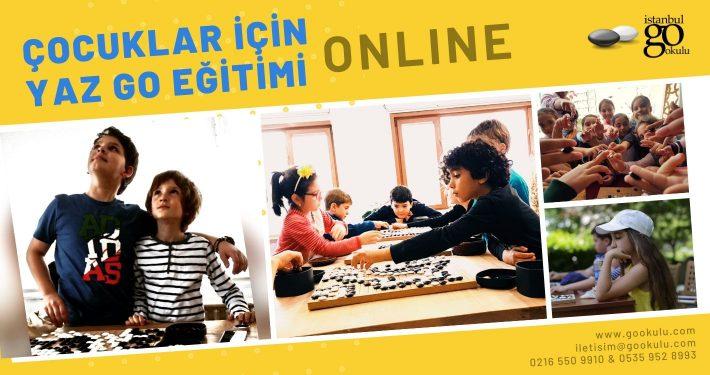 Çocuklar İçin Online Yaz Go Okulu 2020 web