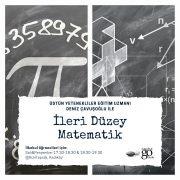 İleri düzey matematik kursu kızıltoprak