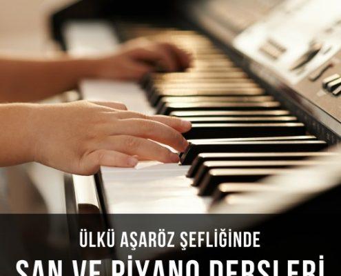 Şan ve Piyano Dersleri