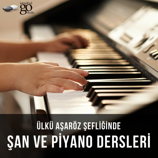 Ülkü Aşaröz ile Şan ve Piyano Dersleri