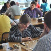 10. Uluslararası İstanbul Go Turnuvası'ndan bir kare