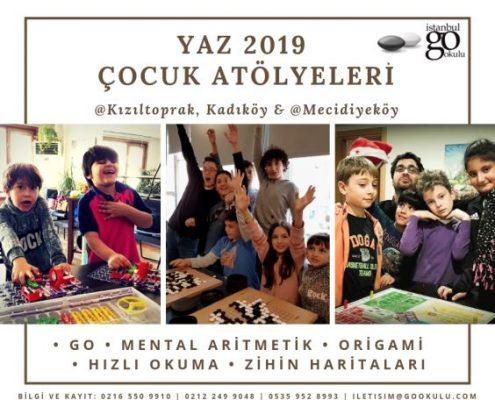 Çocuklar için yaz kampı eğitimleri kursları ve dersleri istanbul