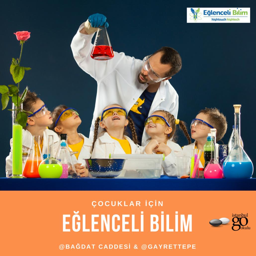 Çocuklar için Eğlenceli Bilim