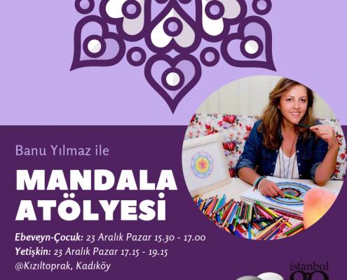 Mandala Atölyesi Çocuklar ve Yetişkinler için