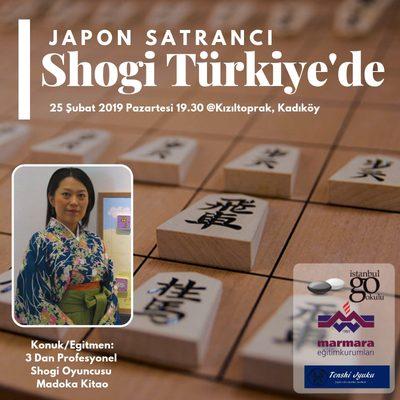 Japon Satrancı Shogi Türkiye'de: Şogi
