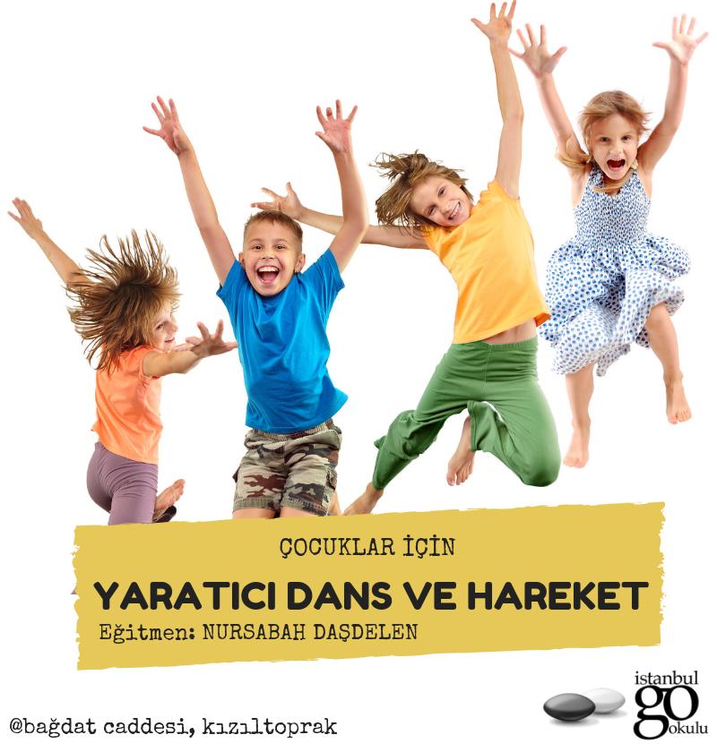 Çocuklar İçin Yaratıcı Dans ve Hareket