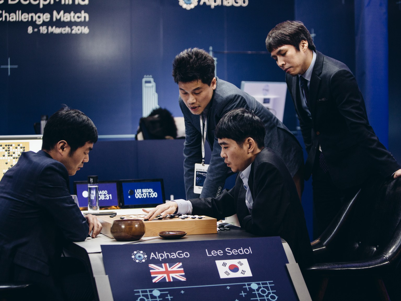 AlphaGo - Lee Sedol karşılaşması