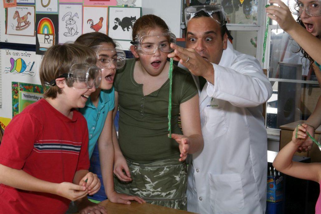 Doğa, bilim ve deneyle öğrenen çocuklar