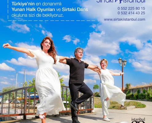 Sirtaki Atölyesi Anadolu Yakası'nda Kadıköy Kızıltoprak'ta